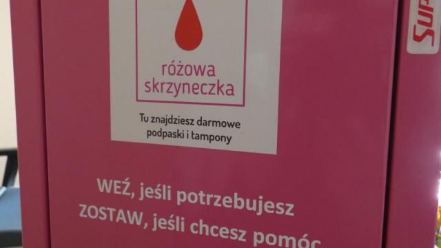 """""""Różowa skrzyneczka"""" w Gminie Brzeszcze - InfoBrzeszcze.pl"""