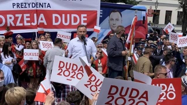 Rafał Trzaskowski wygrał z Andrzejem Dudą w Chrzanowie
