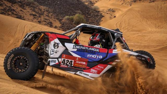 Rajd Dakar. Sukces Energylandia Rally Team. Etapowe podium