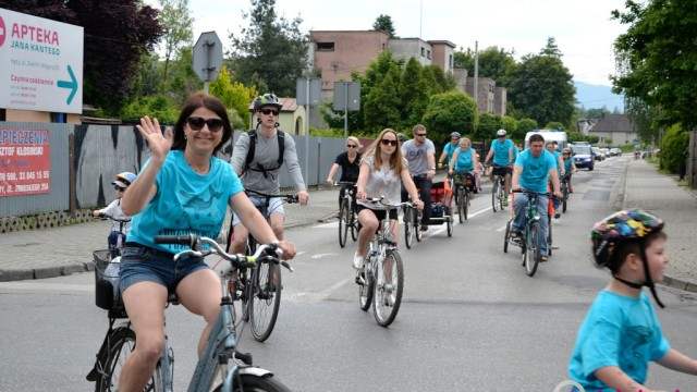 Rajd rowerowy rozpoczął Dzień EKO – FILM, FOTO