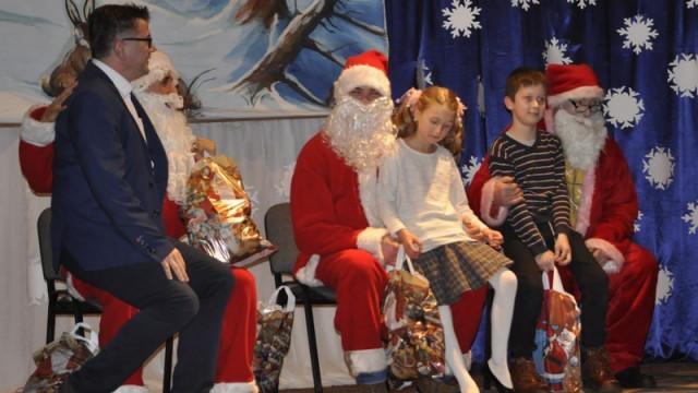 RAJSKO. Albert Bartosz spotkał się ze Świętym Mikołajem. Prezentu jednak nie dostał...