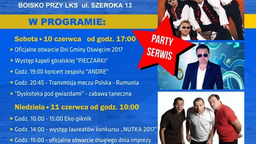 RAJSKO. Pieczarki, Andre, kabaret DNO oraz Maja i Andrzej Sikorscy...