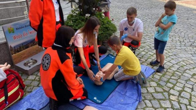 """Ratownicy z Brzeszcz w trzeciej odsłonie akcji """"Gra o życie"""""""