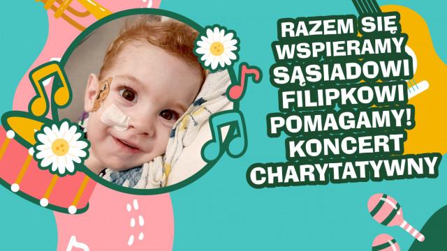 Razem się wspieramy Sąsiadowi Filipkowi pomagamy! Koncert charytatywny - InfoBrzeszcze.pl