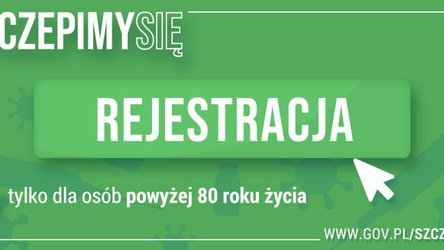Rejestracja na szczepienia przeciw COVID-19 dla seniorów 80+ - InfoBrzeszcze.pl