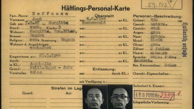 Rekonstrukcja tożsamości. Projekt Muzeum Auschwitz i Arolsen Archives