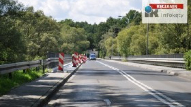 Remont chodnika na moście Kęty Podlesie - szczegóły inwestycji