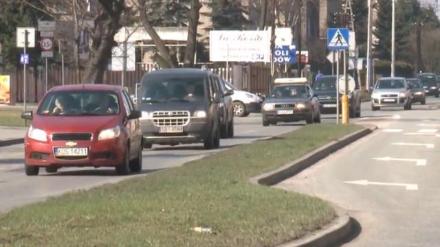 Remont drogi krajowej 44 zaczyna się do ul. Legionów. Planowana jest nowa organizacja ruchu