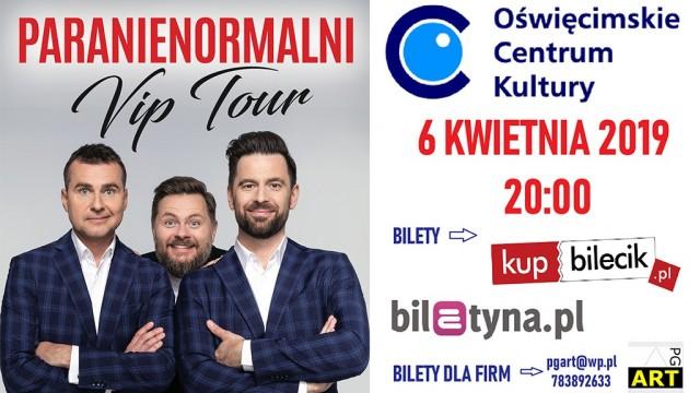 Rozdajemy bilety na kabaret Paranienormalni