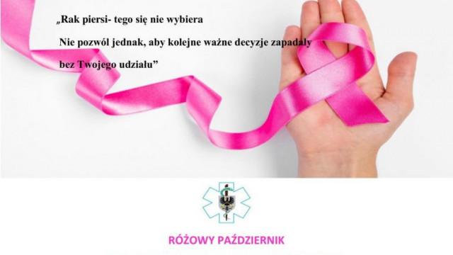 Różowy październik w Szpitalu Powiatowym w Oświęcimiu