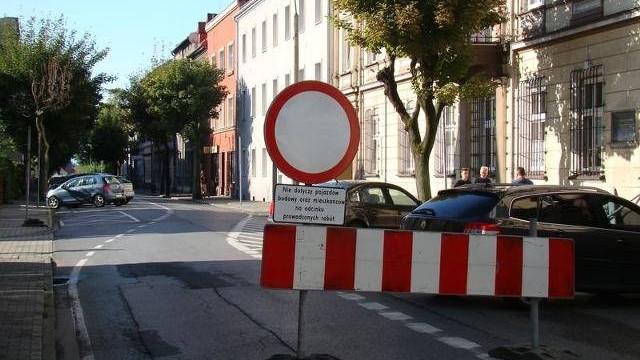 Rozpoczął się remont ulicy Jagiełły w Oświęcimiu.  Będą utrudnienia w centrum miasta