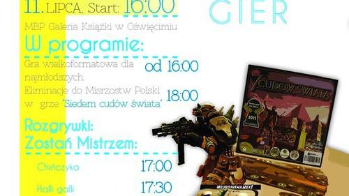 ROZRYWKA. Oświęcimski Festiwal Gier przy Galerii Książki