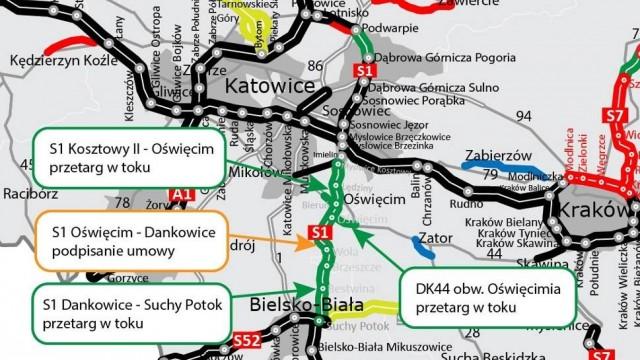 Rusza budowa S1 od węzła Oświęcim do Dankowic