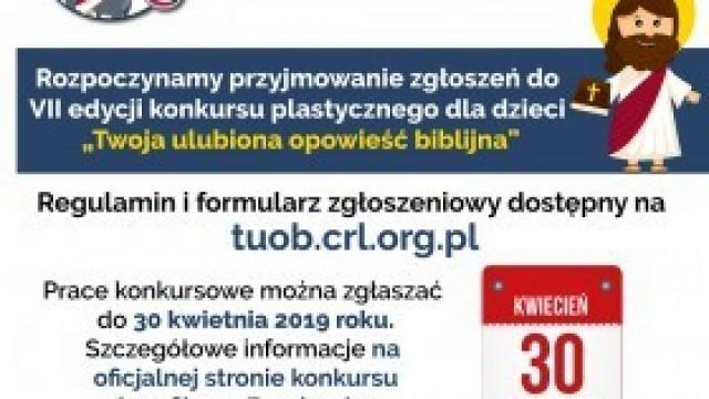 """Rusza VII edycja Konkursu """"Twoja ulubiona opowieść biblijna"""""""