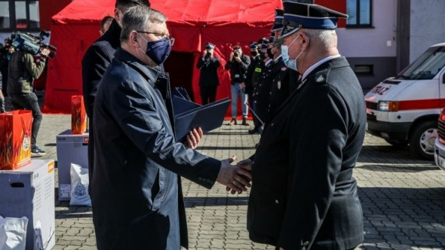 Ruszył konkurs MAŁOPOLSKIE OSP 2021. Kolejne wsparcie dla strażaków