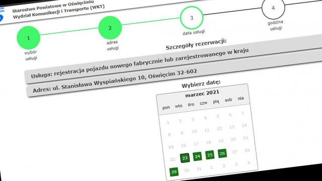 Ruszył system internetowej rezerwacji wizyt w Wydziale Komunikacji - InfoBrzeszcze.pl