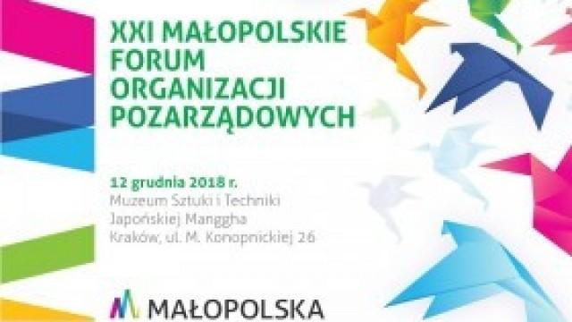 Ruszyła rejestracja na Małopolskie Forum Organizacji Pozarządowych