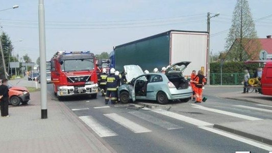 Samochody w stronę Bierunia powoli ruszyły – AKTUALIZACJA