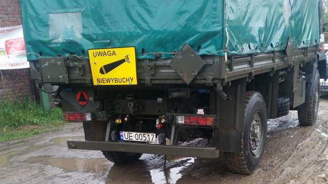 Saperzy zabezpieczyli pocisk, odnaleziony na terenie budowy obwodnicy Oświęcimia.