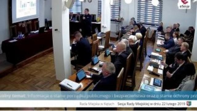 Sesja Rady Miejskiej w Kętach - transmisja na żywo
