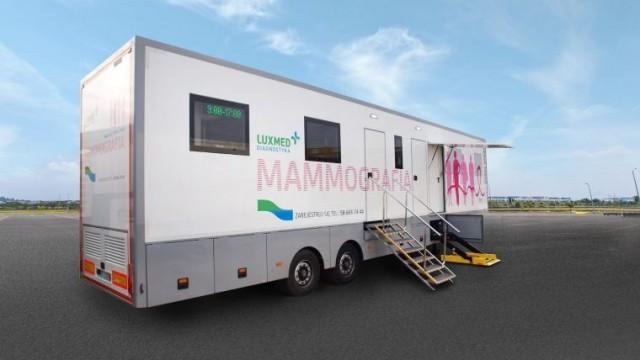Skorzystaj z bezpłatnych badań mammograficznych