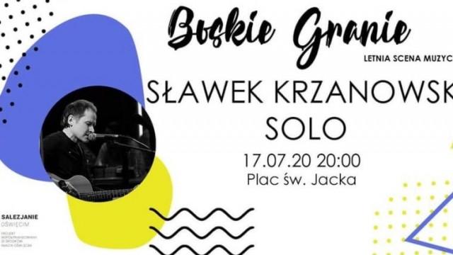 Sławek Krzanowski zagra i zaśpiewa na Letniej Scenie Muzycznej