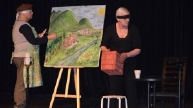 """""""Ślepcy"""" - niezwykły spektakl w Domu Kultury"""