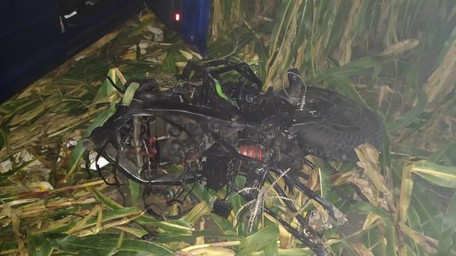 Śmiertelny wypadek w gminie Zator -ZDJĘCIA!