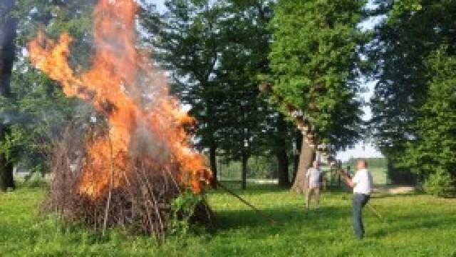 Sobótkowe ognie zapłonęły w Witkowicach