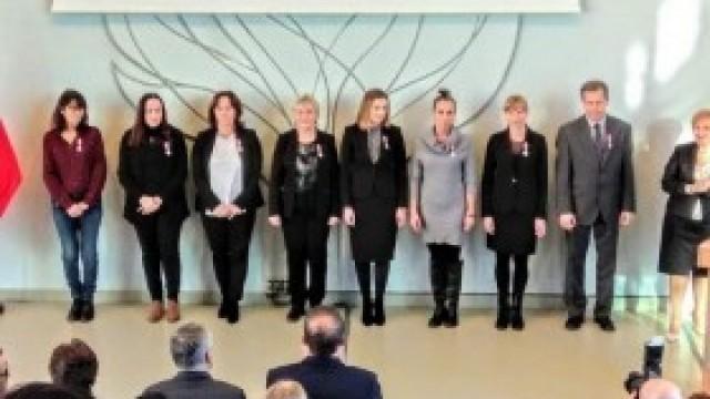 SP w Nowej Wsi -  Medale za Długoletnią Służbę