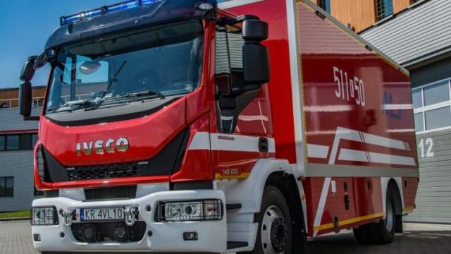 Specjalistyczny pojazd dla strażaków z PSP w Oświęcimiu