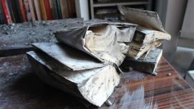Spłonął księgozbiór - biblioteka prosi o pomoc!