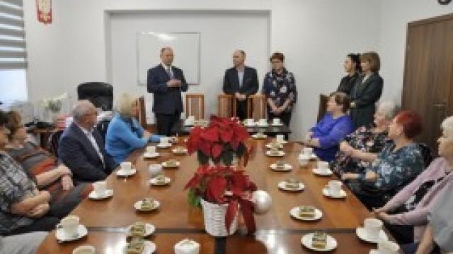 Spotkanie emerytowanych pracowników w Urzędzie Gminy Kęty