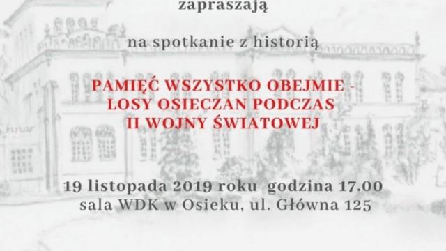 Spotkanie z historią w Osieku