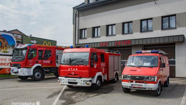 Średni samochód ratowniczo-gaśniczy z JRG Oświęcim, przekazany strażakom z OSP Zator – ZDJĘCIA!