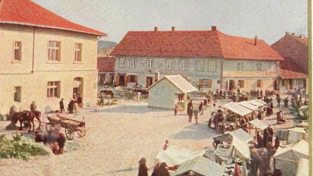 Stare zdjęcia i pocztówki - zobaczcie jak wyglądały kiedyś Krzeszowice