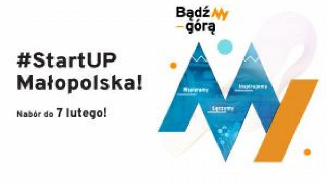 #StartUP Małopolska - zgłoś się!