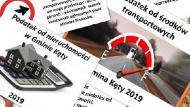 Stawki podatków lokalnych na rok 2019