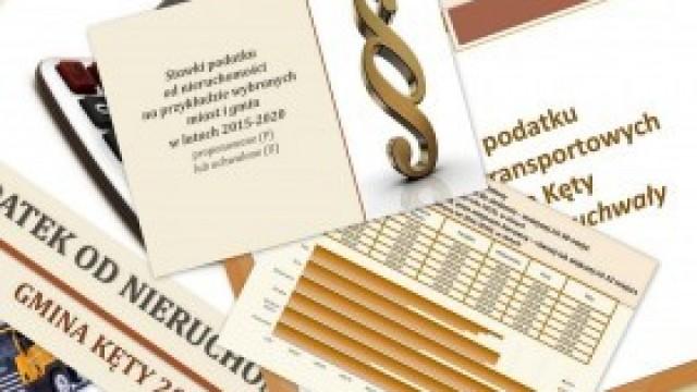 Stawki podatków lokalnych na rok 2020