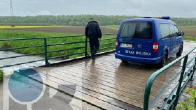 Straż miejska kontroluje cieki na terenie gminy Kęty