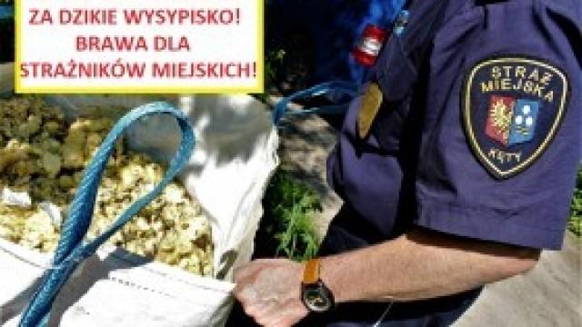 """Straż Miejska znów wykryła """"właściciela"""" dzikiego wysypiska"""