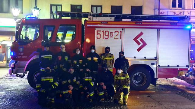 Strażacy i Ratownicy zagrali z WOŚP – ZDJĘCIA, FILM!