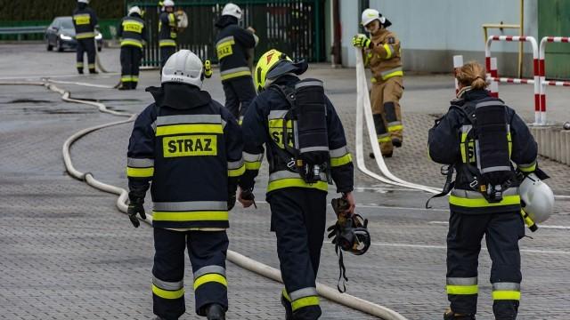 Strażacy OSP dostarczą żywność do osób objętych kwarantanną. Komendant Powiatowy PSP w Oświęcimiu wyznaczył jednostki