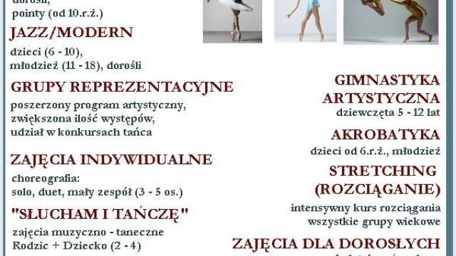 Studio Baletowe i Tańca Współczesnego Classica – nabór na sezon 2019/2020