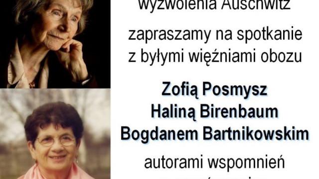Świadkowie – pisarze. Spotkanie z okazji 70. rocznicy wyzwolenia Auschwitz