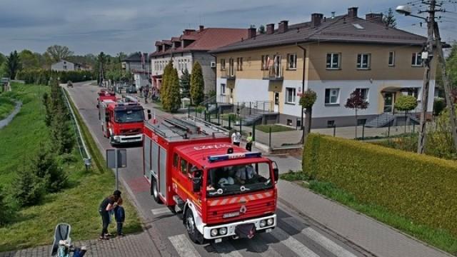 Świąteczny objazd strażaków