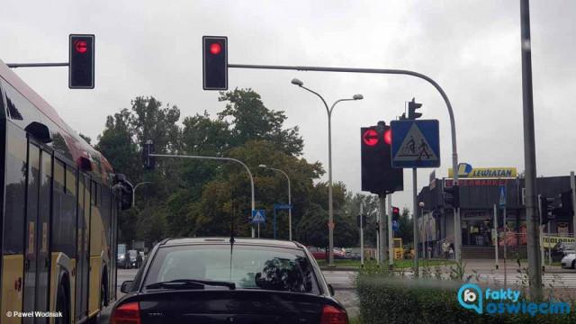 Światła na Dąbrowskiego znów działają – FOTO