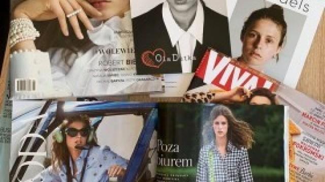Światowej sławy modelka odwiedziła młode kosmetyczki w ZDZ w Kętach
