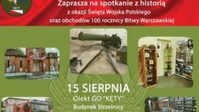 Święto Wojska Polskiego na kęckiej strzelnicy - zapraszamy!