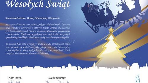 ŚWIĘTO. Życzenia świąteczno-noworoczne od Janusza Chwieruta - FILM
